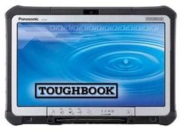 Panasonic Toughpad CF-D1 13.3-inch Fully Rugged Windows Tablet