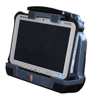 DS-PAN-701 Havis Vehicle Cradle for Panasonic Toughpad FZ-G1. Port Replication