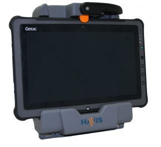 DS-GTC-201-3 Havis Vehcile Cradle for Getac F110. Port Replication and Antenna Pass-through