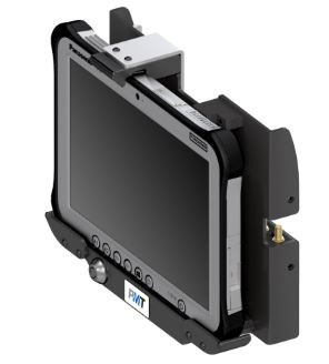 AS7.P001.205 PMT Vehicle Cradle for Panasonic Toughpad FZ-G1. Extended Profile, full Port Replication and Antenna Pass-through