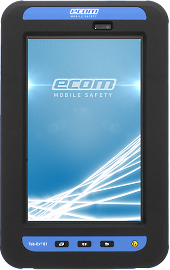 Ecom Tab-Ex 02 Zone 1 (ATEX / IECEx) Hazardous Area Tablet