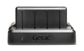 GetacZX70 Office dock (Pogo pin connector with USB Host, Audio output, LAN and DC in jack)