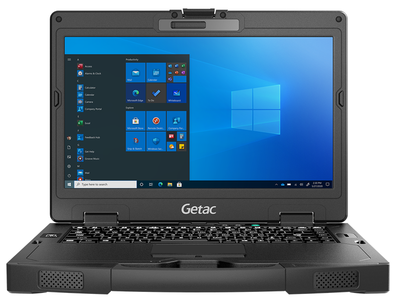 Getac S410 14-Inch Semi-Rugged Laptop