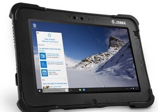 Zebra L10 XPAD 10.1-inch Android Rugged Tablet