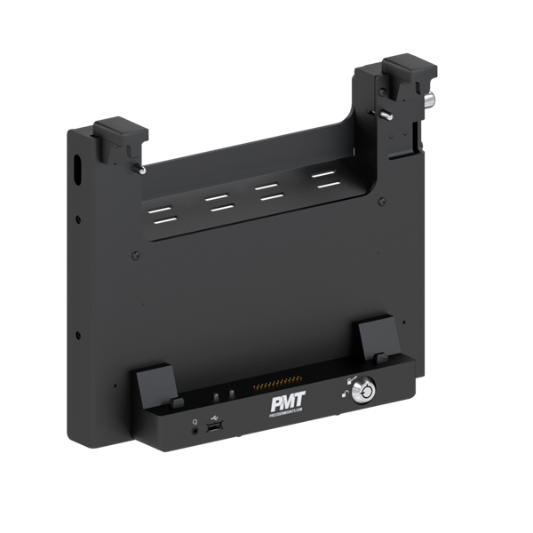 "PMT Heavy Duty Vehicle Dock - Dell 12"" Lattitude Tablet with Dual Passthough Antennas (Port Replication)"