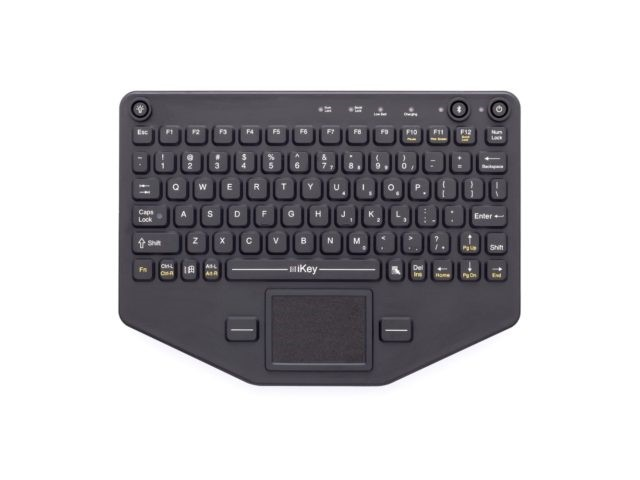 iKey Rugged Bluetooth Keyboard with Touchpad