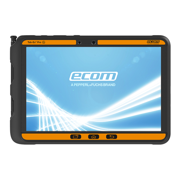 Ecom Tab-Ex Pro DZ2 10.1-Inch Fully Rugged Intrinsically Safe Tablet (Zone 2 Group II)