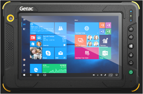 Getac EX80 Intrinsically Safe Rugged Windows Tablet