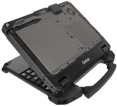 Getac UX10 retractable hard handle
