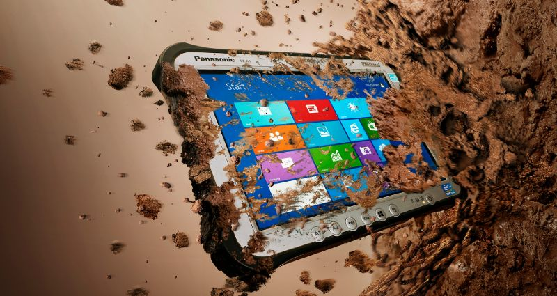 Panasonic tablet designed to survive tough environments