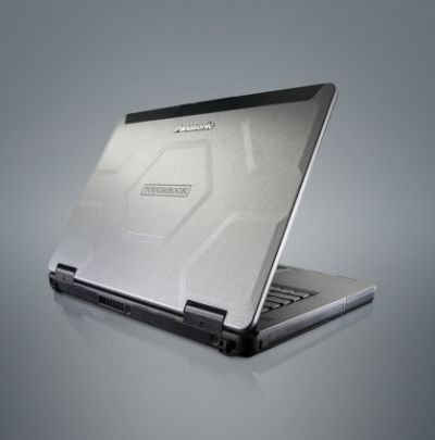 The Panasonic Toughbook CF-54 14-inch Semi Rugged Laptop on white background