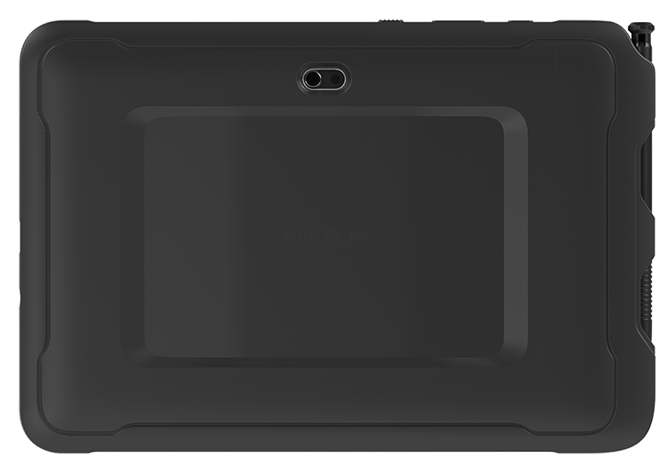 Ecom Tab-Ex Pro rear camera view on white background